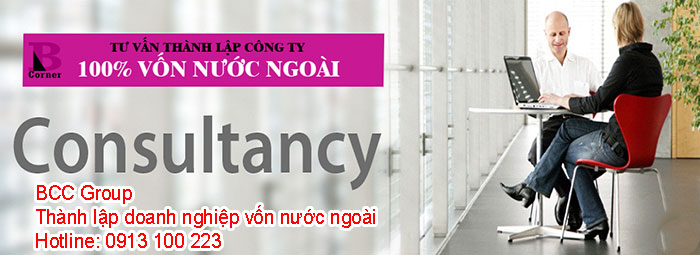 thanh lap cong ty 100% von nuoc ngoai